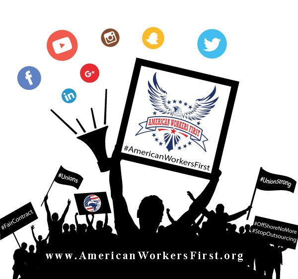 Virtual Picket Line American Workers First
