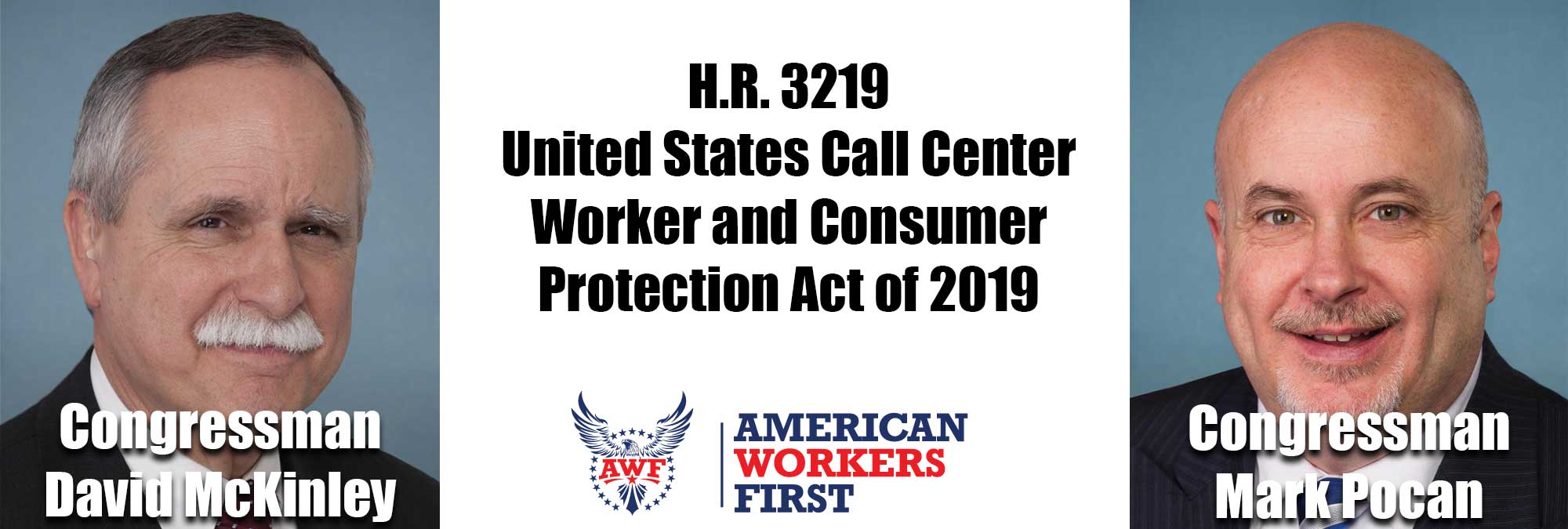Pocan McKinley HR 3219 US Call Center and Consumer Protection Act of 2019